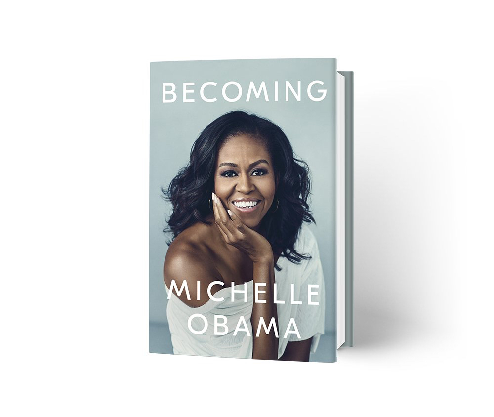 Becoming By Michelle Obama Book Cover Tweet
