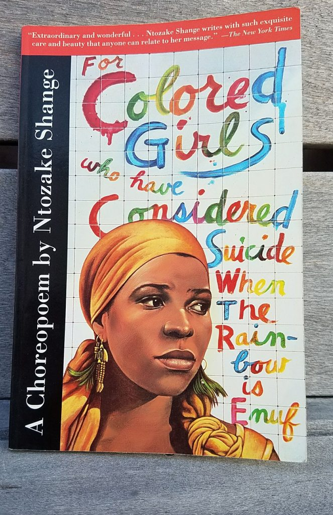 For Colored Girls Book Cover by Ntozake Shange