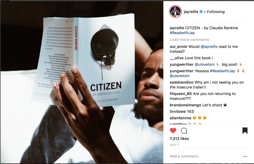 Jay Ellis Reading Citizen