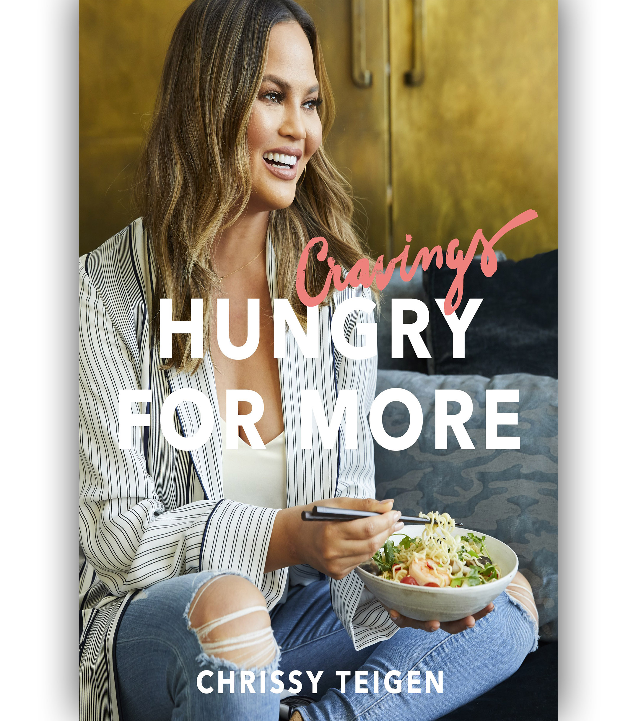 Cravings: Hungry For More by Chrissy Teigen Cookbook book cover