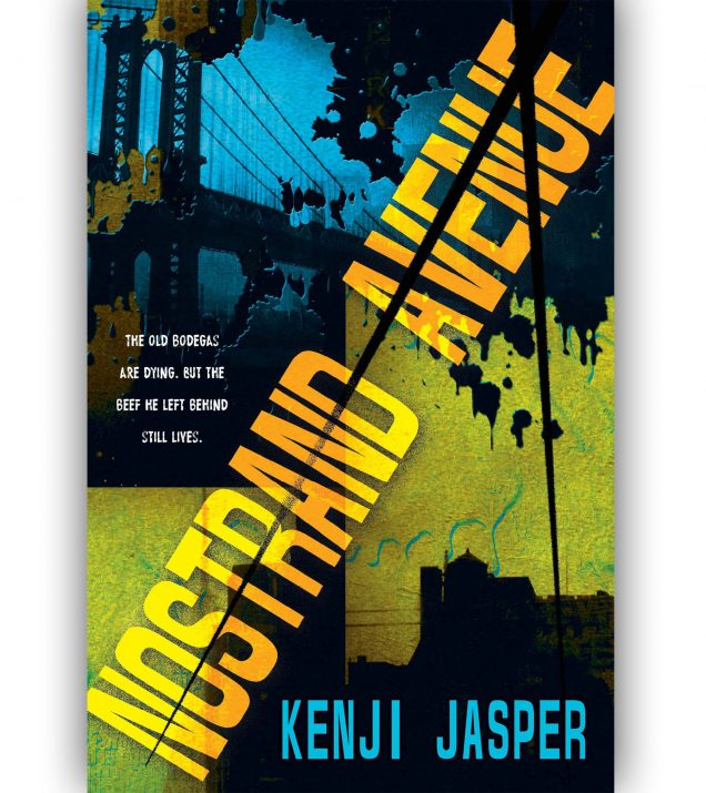Nostrand Avenue By Kenji Jasper Book Cover