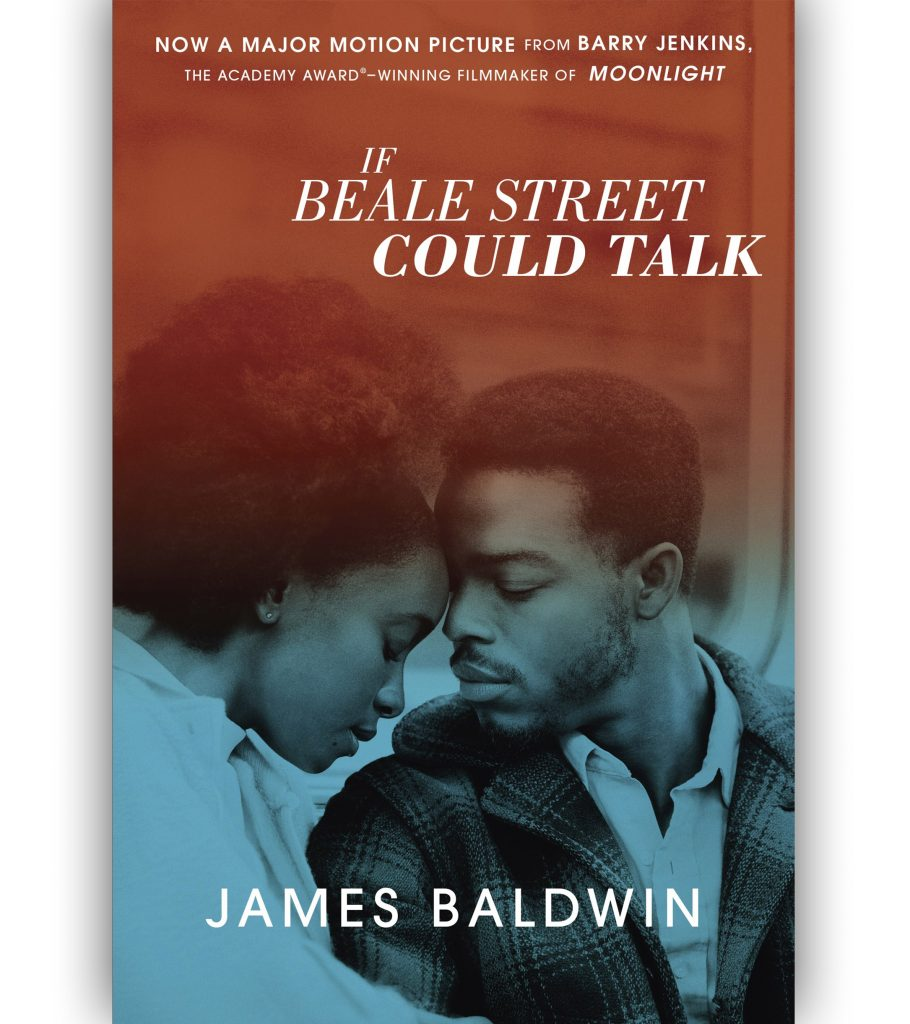If Beale Street Could Talk by James Baldwin reissue with movie book cover 2018