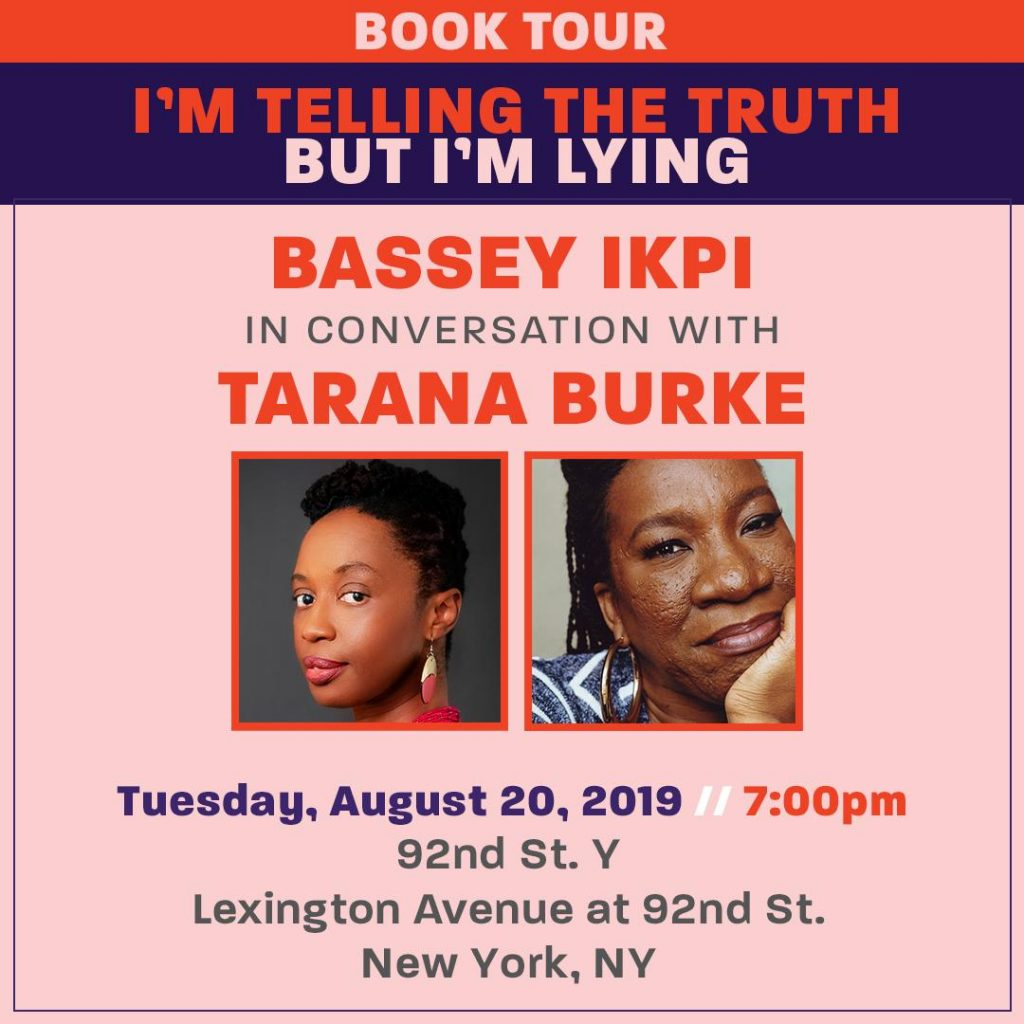 Bassey Ikpi and Tarana Burke in Conversation at 92nd Street Y