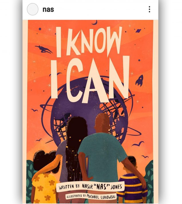 I Know I Can by Nasir Nas Jones Book Cover