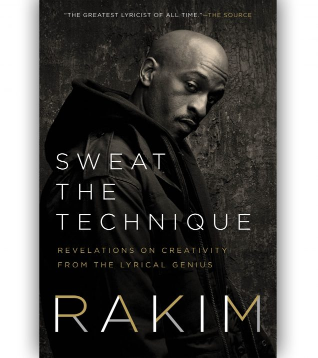 Sweat The Technique By Rakim Book Cover