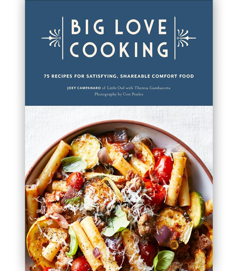 On Set At Chef Joey Campanaro's Sunday Supper From Big Love Cooking