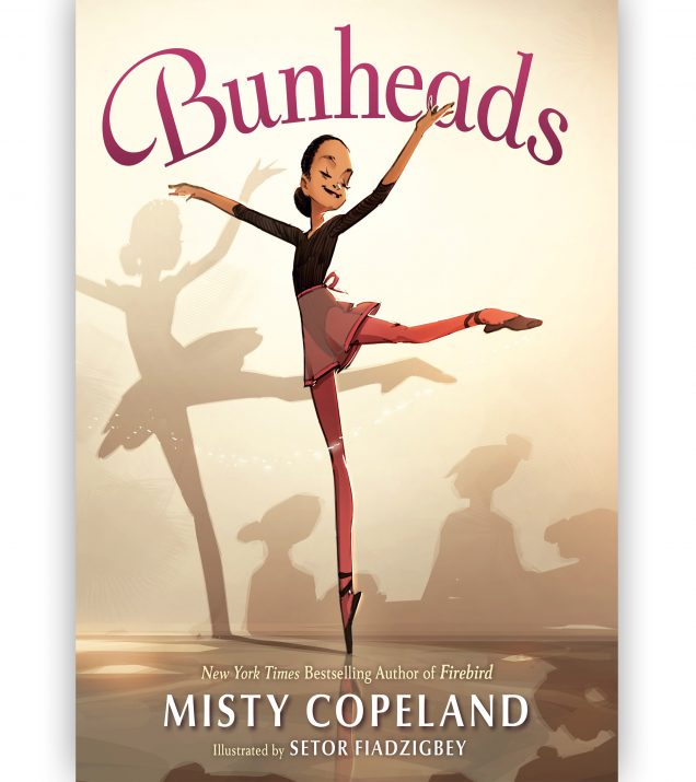 Bunheads by Misty Copeland Book Cover