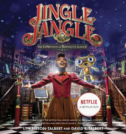 Phylicia Rashad Records Audiobook For David E. Talbert And Lyn Sisson-Talbert's Jingle Jangle: The Invention of Jeronicus Jangle