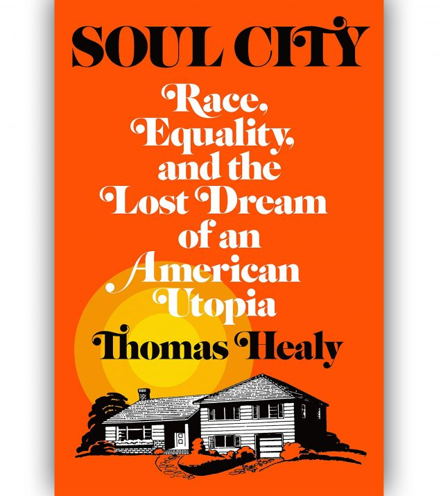 SOUL CITY BY THOMAS HEALY BOOK COVER