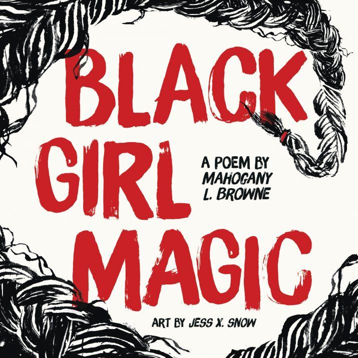Black Girl Magic by Mahogany L. Browne Book Cover
