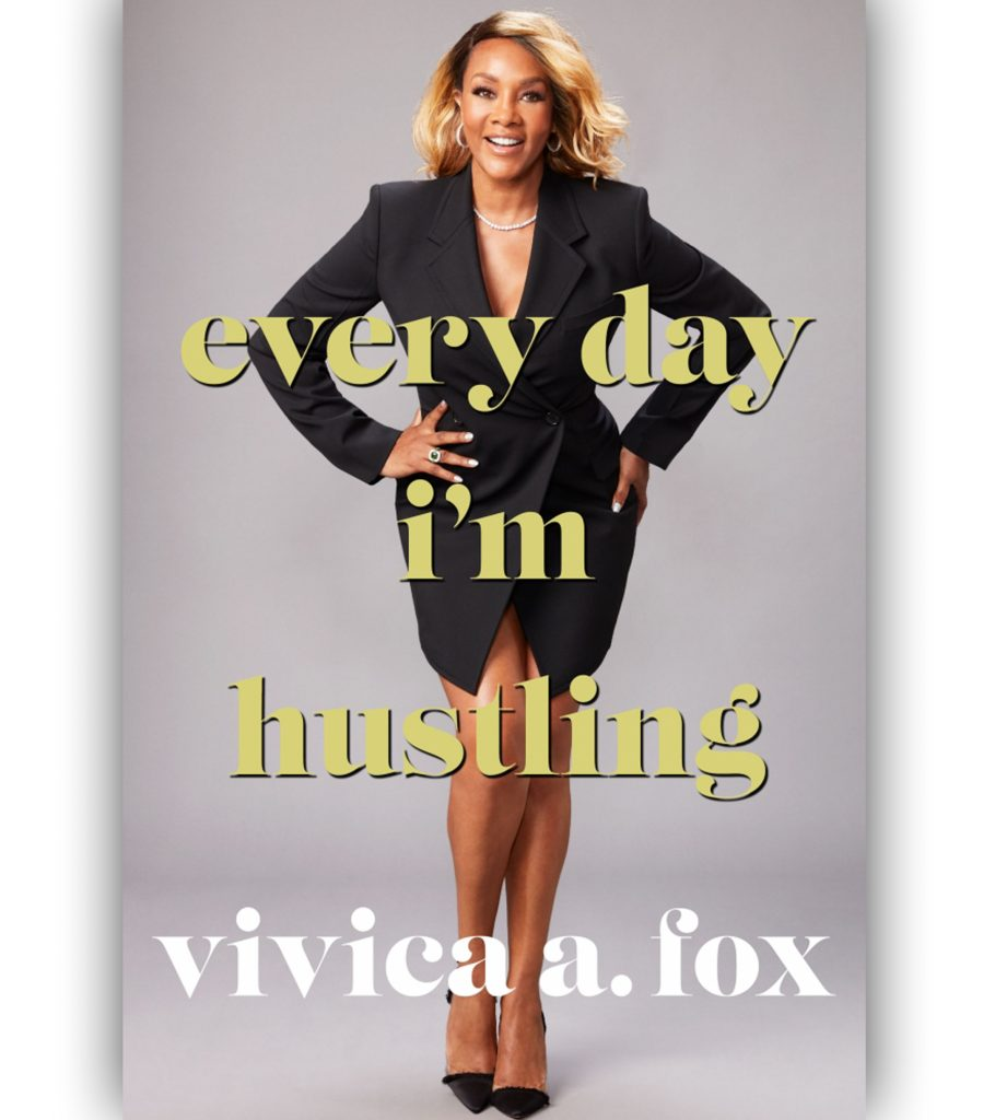 Image result for vivica fox author Everyday I'm Hustlin