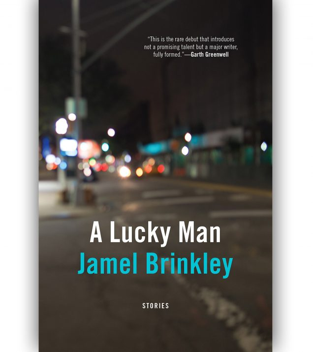 A Lucky Man by Jamel Brinkley Book Cover