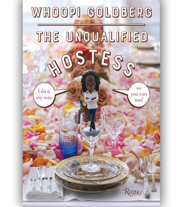 The Unqualified Hostess By Whoopi Goldberg Book Cover