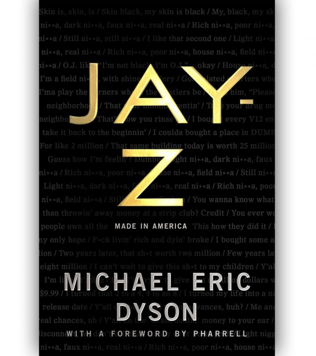JAY-Z:MADE IN AMERICA BOOK COVER