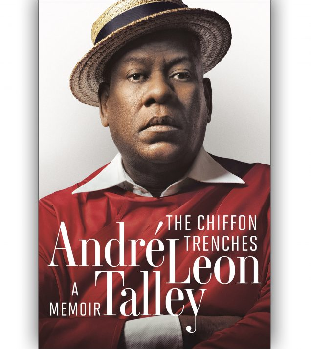The Chiffon Trenches by Andre Leon Tally Book Cover