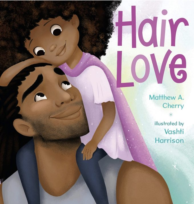 Hair Love By Matthew A. Cherry Book Cover