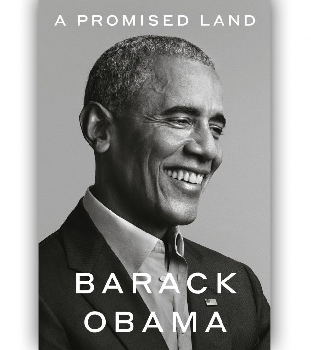 A PROMISED LAND BY BARACK OBAMA BOOK COVER