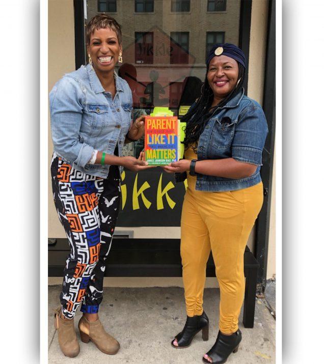 Dr. Janice Johnson Dias and Paula T. Renfroe at Likkle Shop