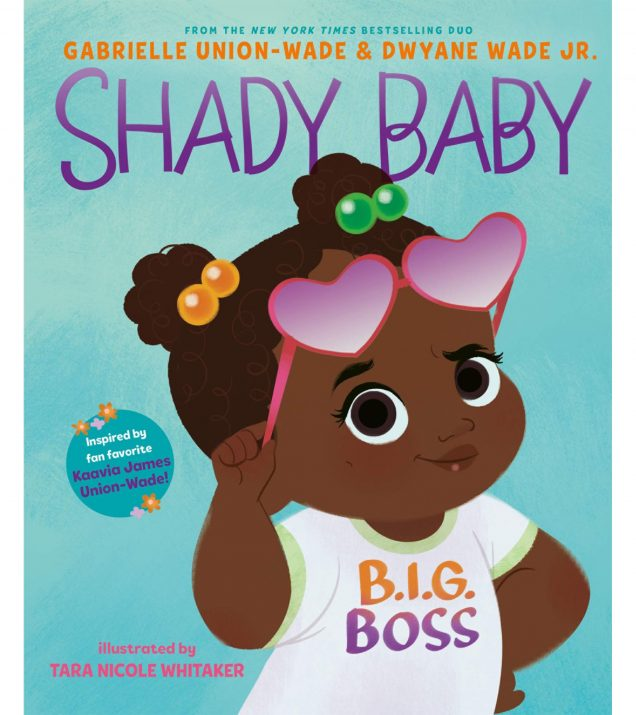 SHADY BABY BOOK COVER BY GABRIELLE UNION DWYANE WADE